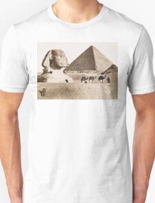 Vintage Photographs and prints of Egypt Unisex T-Shirt