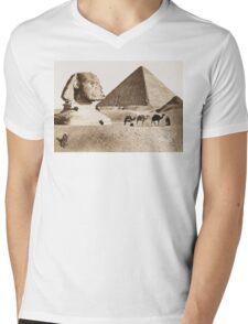 Vintage Photographs and prints of Egypt Mens V-Neck T-Shirt