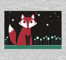 NIGHT FOX One Piece - Long Sleeve