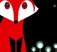 NIGHT FOX Sticker
