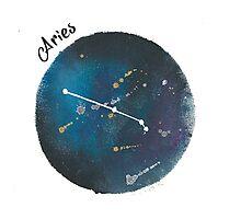 aries galaxy Photographic Print