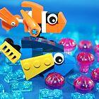 Lego Fish by XxDeadmanzZ