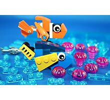 Lego Fish Photographic Print