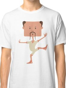 Funny karate man Classic T-Shirt
