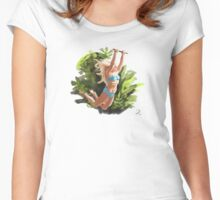 Jungle Girl Women's Fitted Scoop T-Shirt