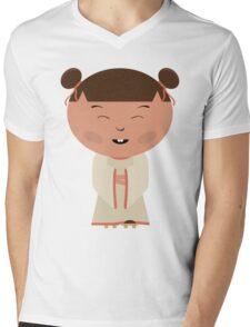 Funny japanese girl Mens V-Neck T-Shirt
