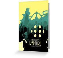 Welcome To The Rapture Greeting Card
