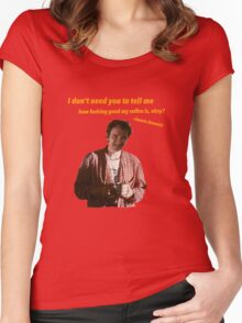 Jimmie Dimmick - Coffee Women's Fitted Scoop T-Shirt
