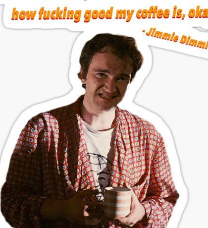 Jimmie Dimmick - Coffee Sticker