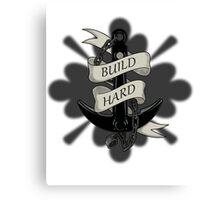 Build Hard Canvas Print