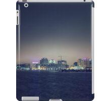 City Glow 1 of DownTown Norfolk Waterside.  iPad Case/Skin