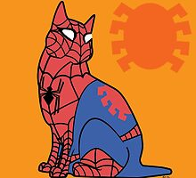 Spidey-Cat by MldirtySocks