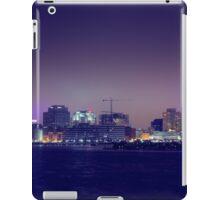 City Glow of DownTown Norfolk Waterside. iPad Case/Skin