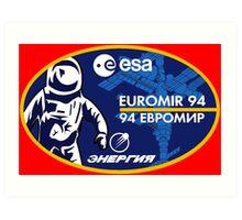 European Euromir (94 mission) Art Print