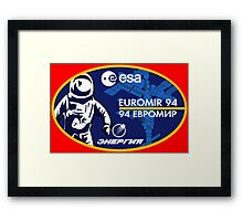 European Euromir (94 mission) Framed Print