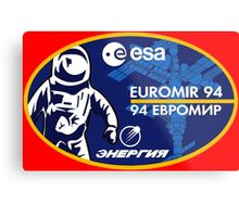European Euromir (94 mission) Metal Print