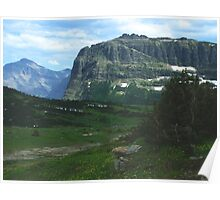 Over Logan's Pass Poster