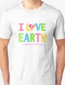 I Love Earth Unisex T-Shirt