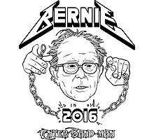 Bernie - Enter Sandman Photographic Print