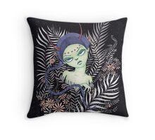 Spring Queen Throw Pillow