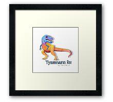 Tyrannosaurus Rex Rawrrrr Framed Print