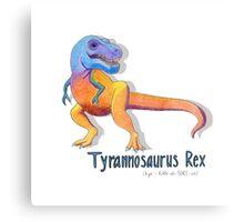 Tyrannosaurus Rex Rawrrrr Canvas Print