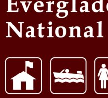 Everglades National Park Sign, FL Sticker