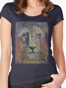 White Lion Women's Fitted Scoop T-Shirt