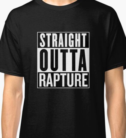 Straight Outta Rapture Bioshock Classic T-Shirt