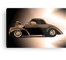 1941 Willys Coupe 'Profile' II Metal Print