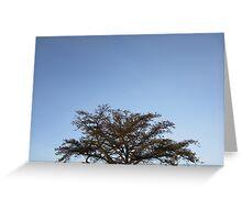 Treetop Greeting Card