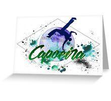 Brazilian Capoeira Greeting Card