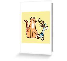 Jerk Cat Greeting Card