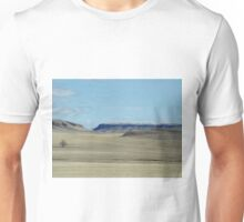 Prairie Buttes with Lone Tree Unisex T-Shirt