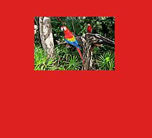 Scarlet Macaws Womens Fitted T-Shirt