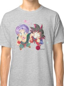 Trunks and Goten - watercolor Classic T-Shirt