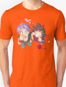 Trunks and Goten - watercolor Unisex T-Shirt