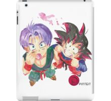 Trunks and Goten - watercolor iPad Case/Skin