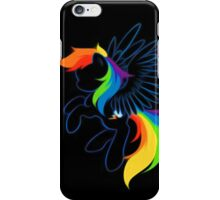 Rainbow Dash Abstract 2 iPhone Case/Skin