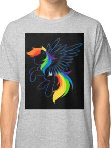 Rainbow Dash Abstract 2 Classic T-Shirt