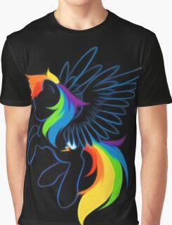 Rainbow Dash Abstract 2 Graphic T-Shirt