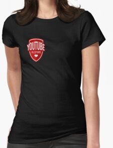 youtube allstars Womens Fitted T-Shirt