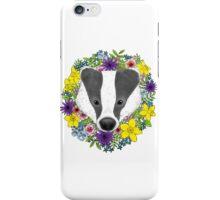 Spring Badger iPhone Case/Skin