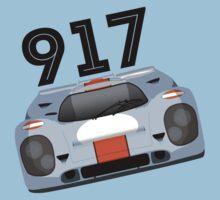 Porsche 917 Gulf Racing One Piece - Short Sleeve