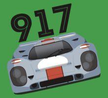 Porsche 917 Gulf Racing Kids Tee