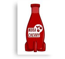 Nuka Cola Cherry Canvas Print