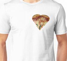 Pizza heart Unisex T-Shirt