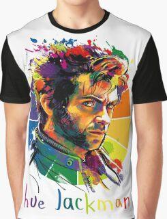 Hue Jackman Graphic T-Shirt