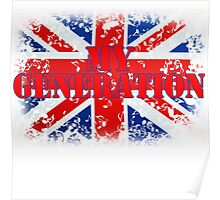 My Generation Union Jack Poster