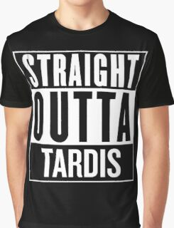 Straight Outta Tardis Graphic T-Shirt